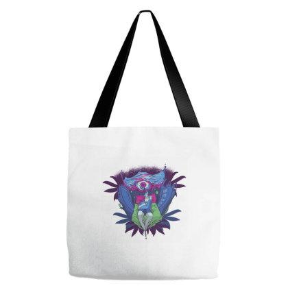 Trippy Portal Tote Bags Designed By Dirjaart