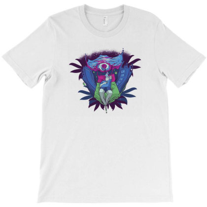 Trippy Portal T-shirt Designed By Dirjaart
