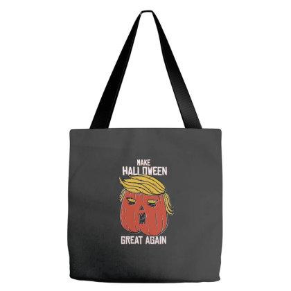 Trumpkin Halloween Pupmkin Tote Bags Designed By Dirjaart