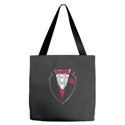 Tuxedo Funny Tote Bags Designed By Dirjaart