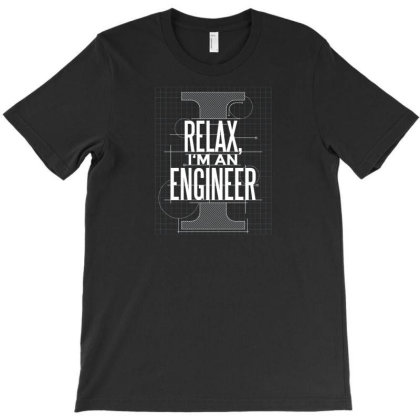 Trust Me Engineer T-shirt Designed By Dirjaart