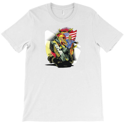 Trump Tank T-shirt Designed By Dirjaart