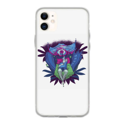 Trippy Portal Iphone 11 Case Designed By Dirjaart