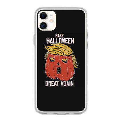 Trumpkin Halloween Pupmkin Iphone 11 Case Designed By Dirjaart