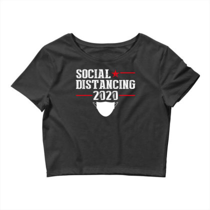 Social Distancing Shirt Crop Top Designed By Faical