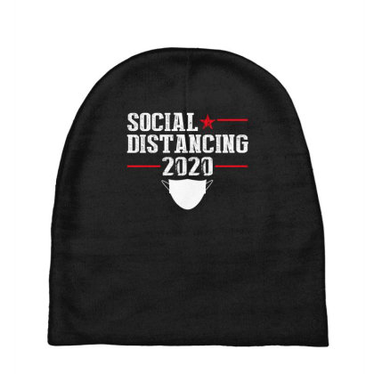 Social Distancing Shirt Baby Beanies Designed By Faical