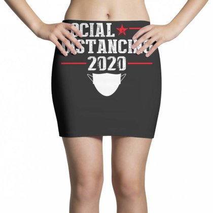 Social Distancing Shirt Mini Skirts Designed By Faical