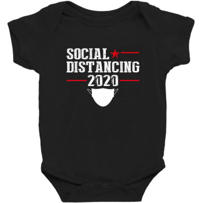 Social Distancing Shirt Baby Bodysuit Designed By Faical