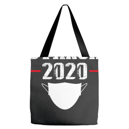 Social Distancing Shirt Tote Bags Designed By Faical