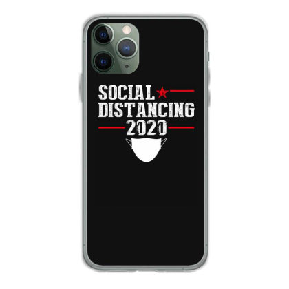 Social Distancing Shirt Iphone 11 Pro Case Designed By Faical