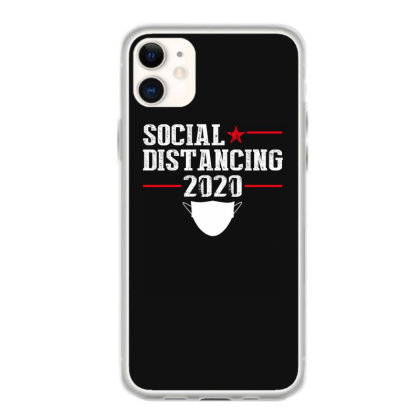 Social Distancing Shirt Iphone 11 Case Designed By Faical
