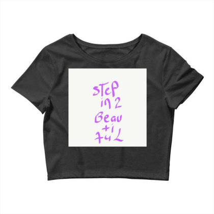 Step Into Beautiful Crop Top Designed By Kiss