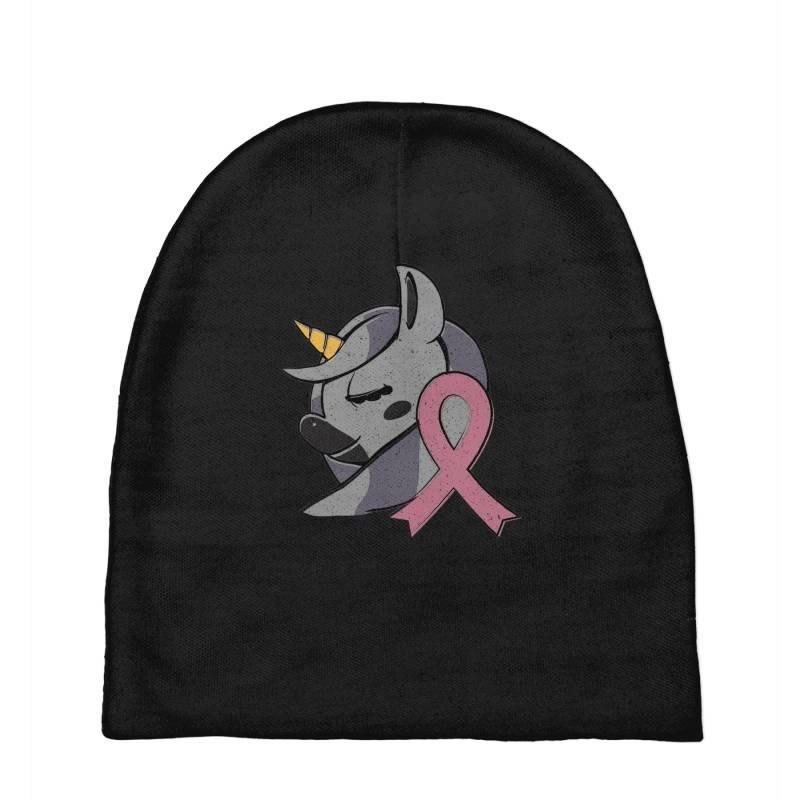 Unicorn Breast Cancer Baby Beanies | Artistshot