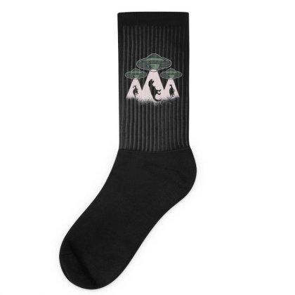 Ufo Dinos Socks Designed By Dirjaart