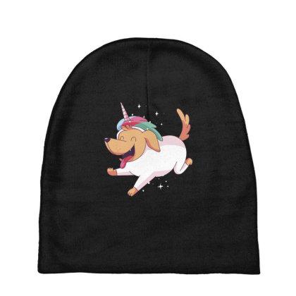 Unicorn Dog Baby Beanies Designed By Dirjaart