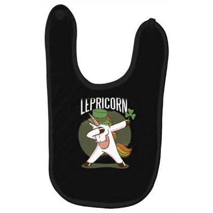 Unicorn Leprechaun Baby Bibs Designed By Dirjaart