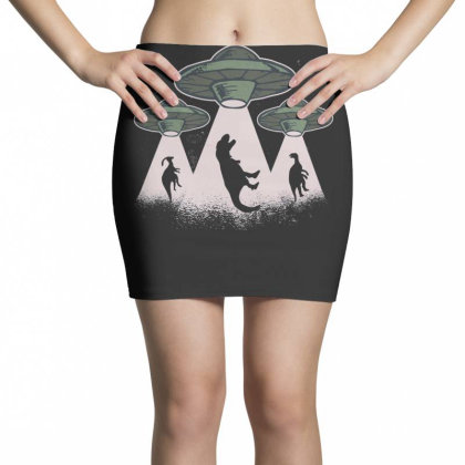 Ufo Dinos Mini Skirts Designed By Dirjaart