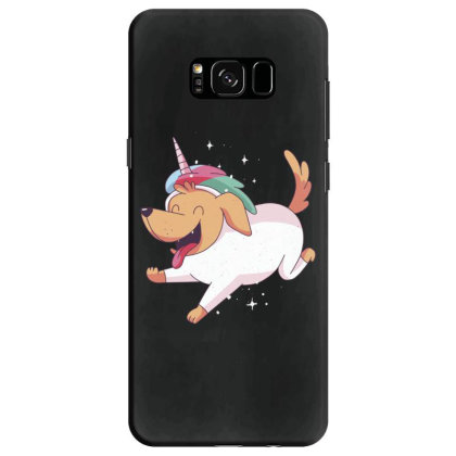 Unicorn Dog Samsung Galaxy S8 Case Designed By Dirjaart