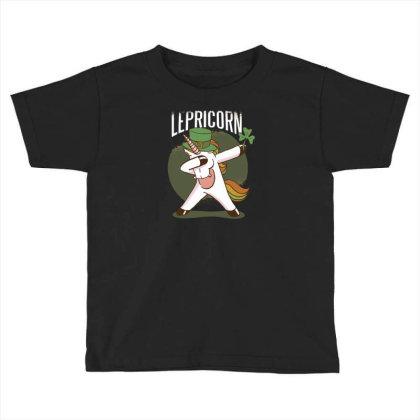 Unicorn Leprechaun Toddler T-shirt Designed By Dirjaart