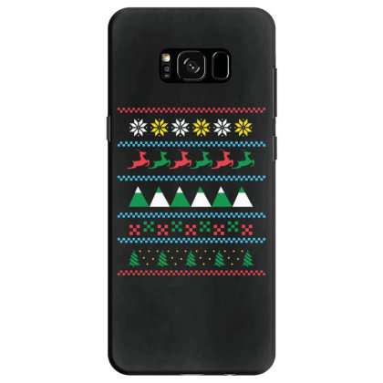 Ugly Sweater Winter Samsung Galaxy S8 Case Designed By Dirjaart