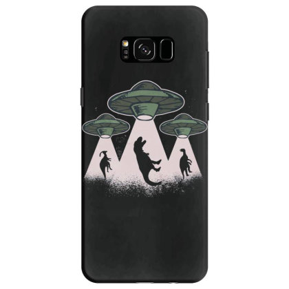Ufo Dinos Samsung Galaxy S8 Case Designed By Dirjaart