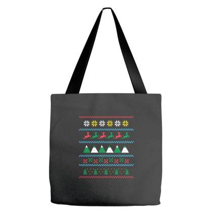 Ugly Sweater Winter Tote Bags Designed By Dirjaart