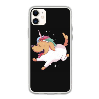 Unicorn Dog Iphone 11 Case Designed By Dirjaart