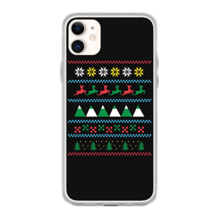 Ugly Sweater Winter Iphone 11 Case Designed By Dirjaart