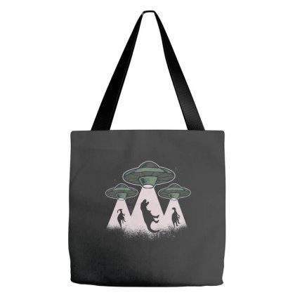 Ufo Dinos Tote Bags Designed By Dirjaart