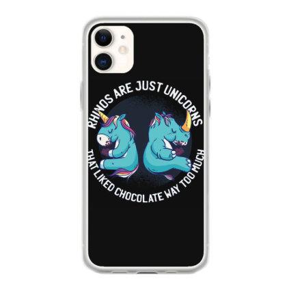 Unicorn And Rhino Iphone 11 Case Designed By Dirjaart