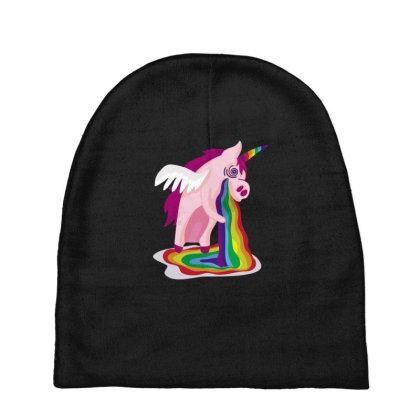 Unicorn Rainbow Baby Beanies Designed By Dirjaart
