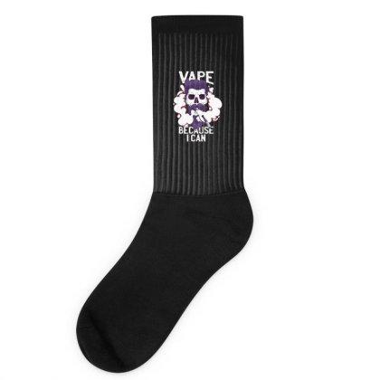 Vape Skull Socks Designed By Dirjaart