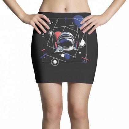 Universe Astronaut Mini Skirts Designed By Dirjaart
