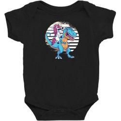 unicorn t rex Baby Bodysuit | Artistshot