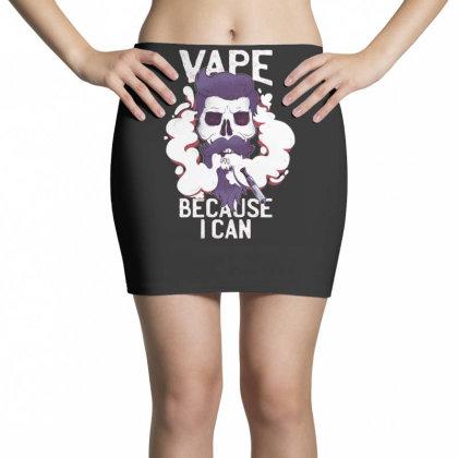 Vape Skull Mini Skirts Designed By Dirjaart