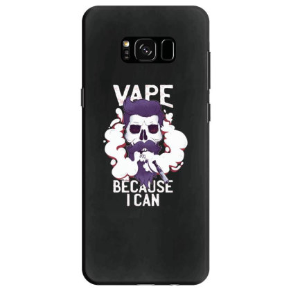 Vape Skull Samsung Galaxy S8 Case Designed By Dirjaart