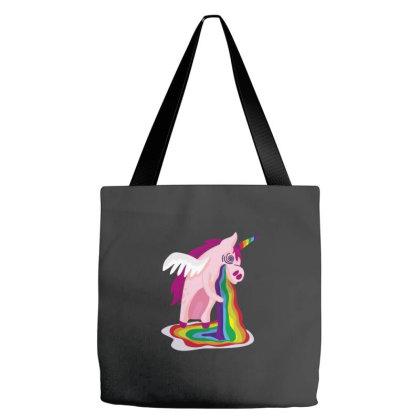 Unicorn Rainbow Tote Bags Designed By Dirjaart