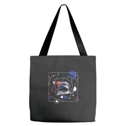 Universe Astronaut Tote Bags Designed By Dirjaart