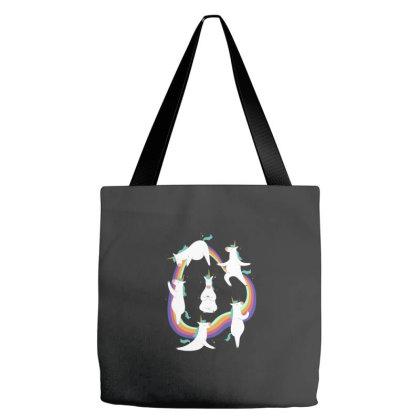 Unicorn Yoga Tote Bags Designed By Dirjaart