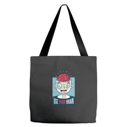 Use Your Brain Tote Bags Designed By Dirjaart