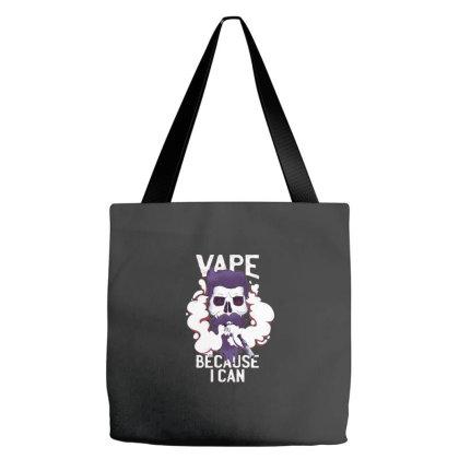Vape Skull Tote Bags Designed By Dirjaart