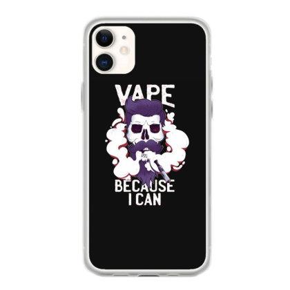 Vape Skull Iphone 11 Case Designed By Dirjaart