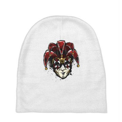 Venetian Mask Baby Beanies Designed By Dirjaart