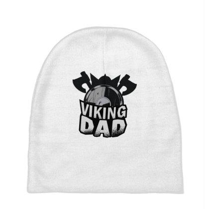 Viking Dad Baby Beanies Designed By Dirjaart