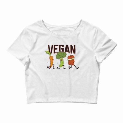 Vegan Runners Crop Top Designed By Dirjaart