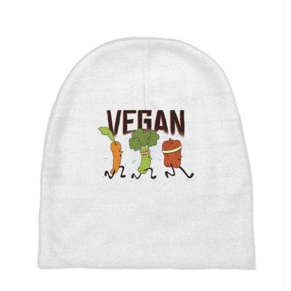 Vegan Runners Baby Beanies Designed By Dirjaart