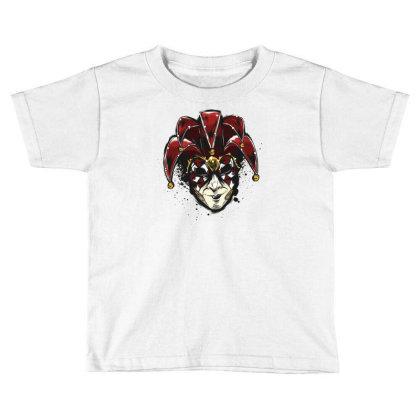 Venetian Mask Toddler T-shirt Designed By Dirjaart