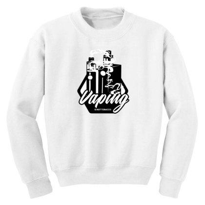 Vaping Youth Sweatshirt Designed By Dirjaart