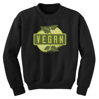 Vegan Youth Sweatshirt Designed By Dirjaart