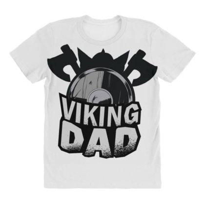 Viking Dad All Over Women's T-shirt Designed By Dirjaart
